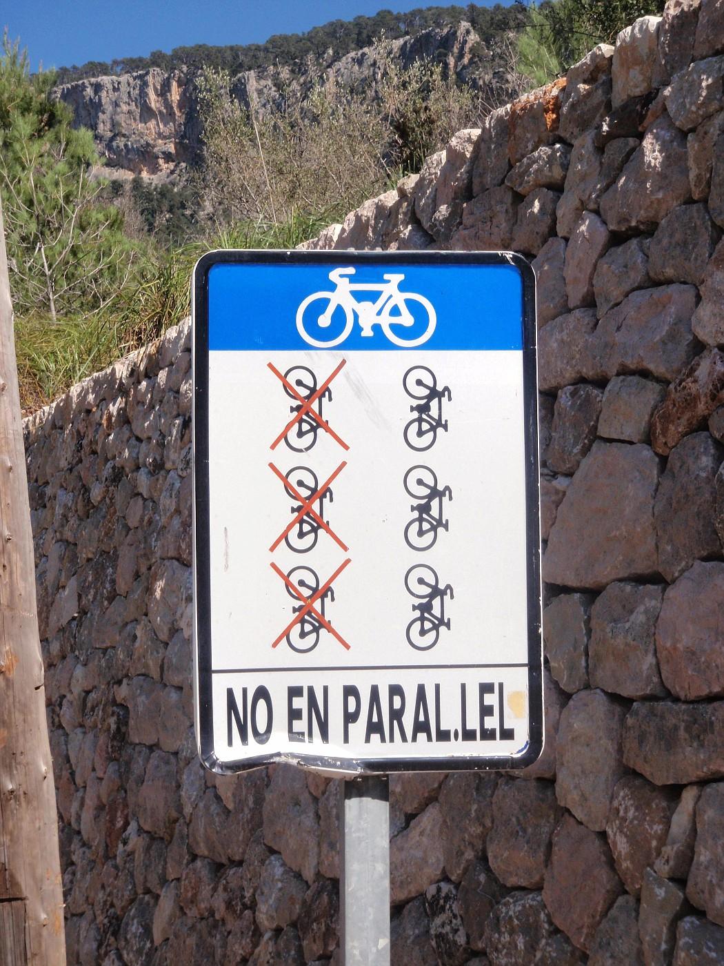 No en parallel