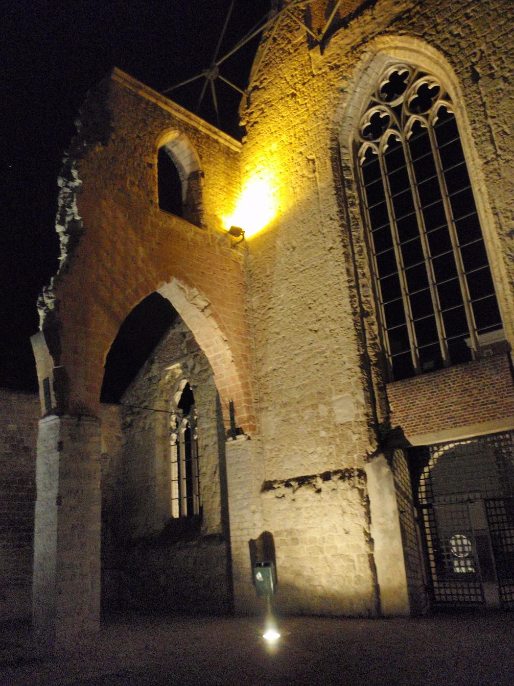 Ruine der Paterskerk in Tienen