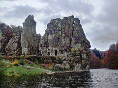 Externsteine, Oberer Teich