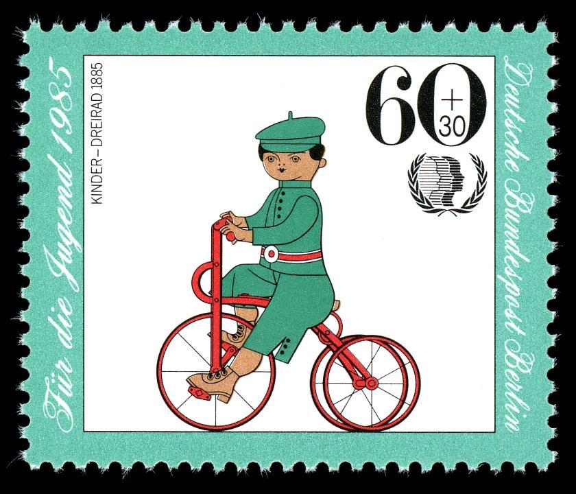 Kinder-Dreirad 1885