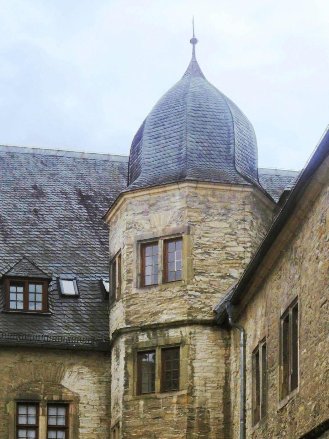 Innerer Treppenturm der Wewelsburg