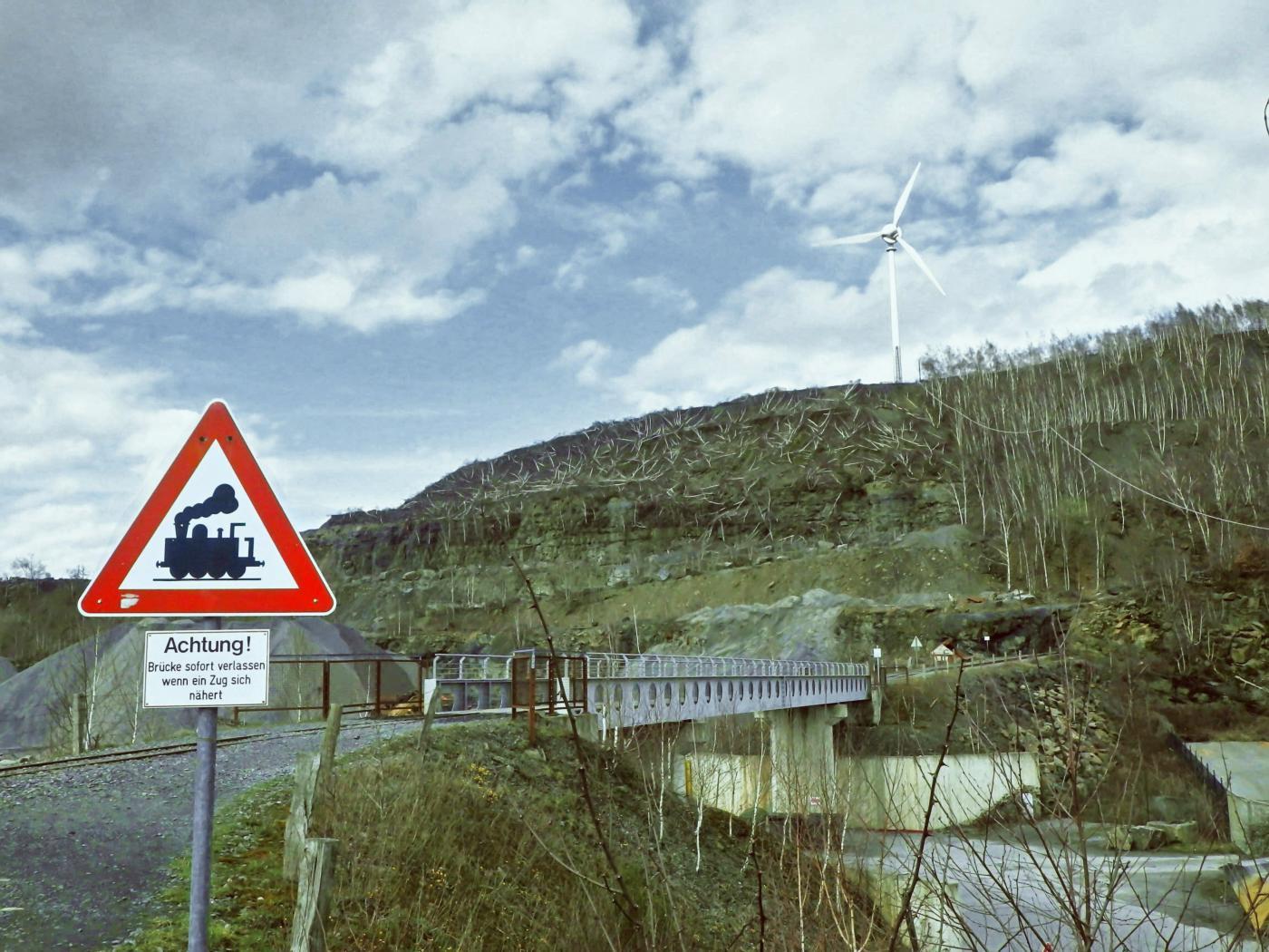 Feldbahnbrücke