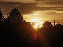 Sonnenaufgang in Enschede