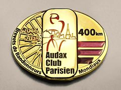 Medaille Brevet 400km