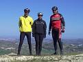 Bernd, Kirsten & Manfred sul Monte Cavallo