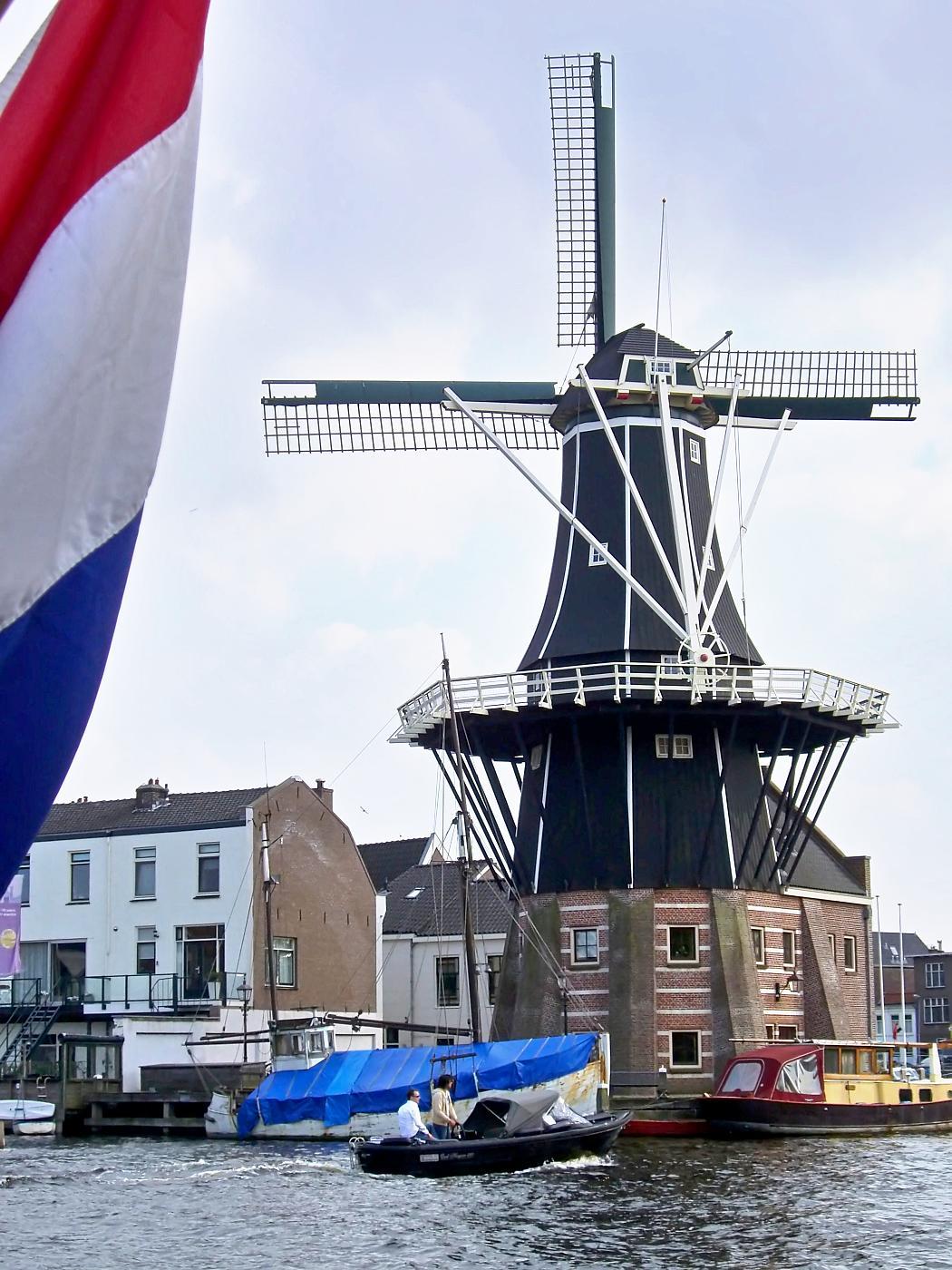 Windmolen in Haarlem