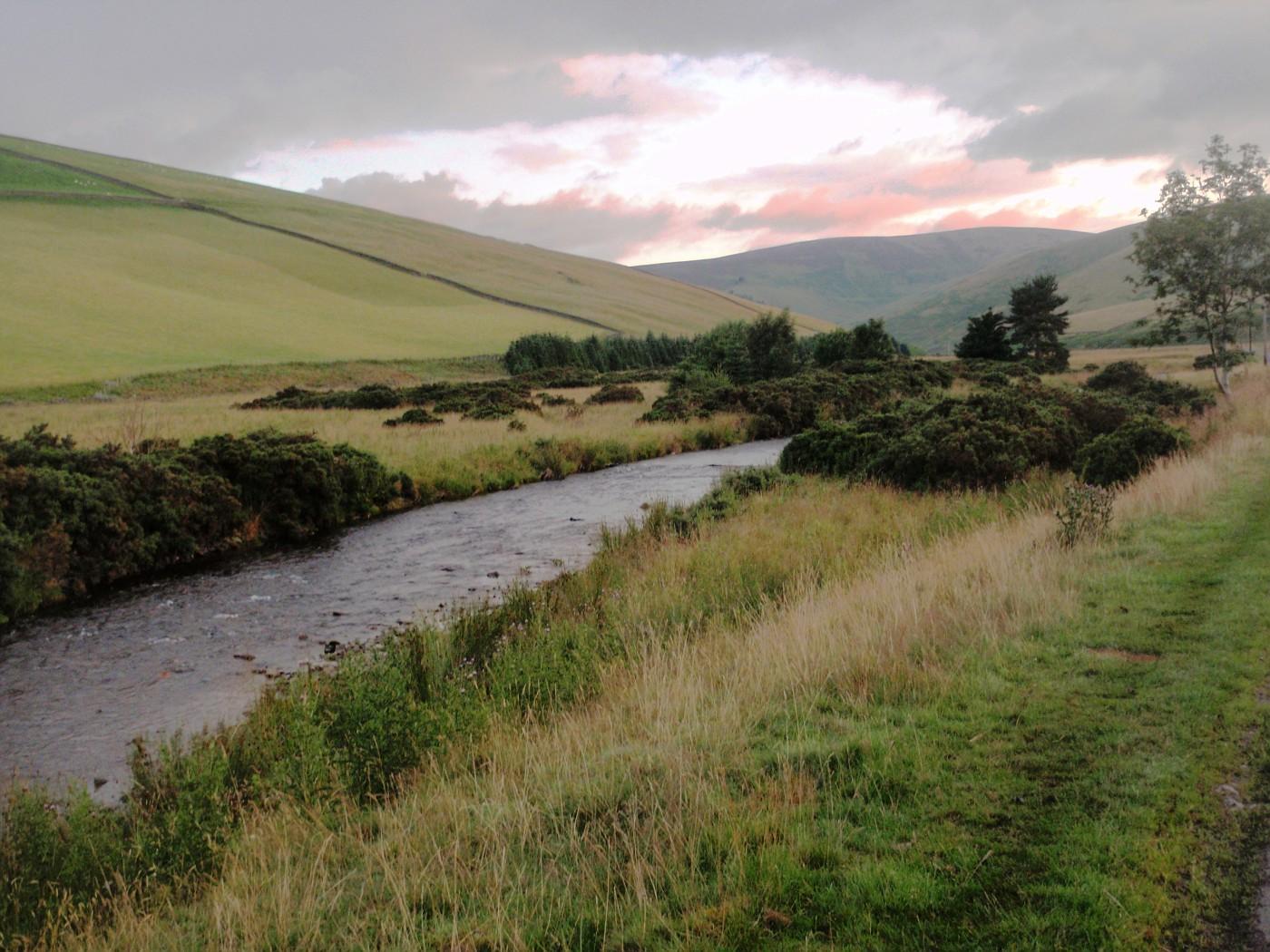 Scottish landscape near Eskdalemuir
