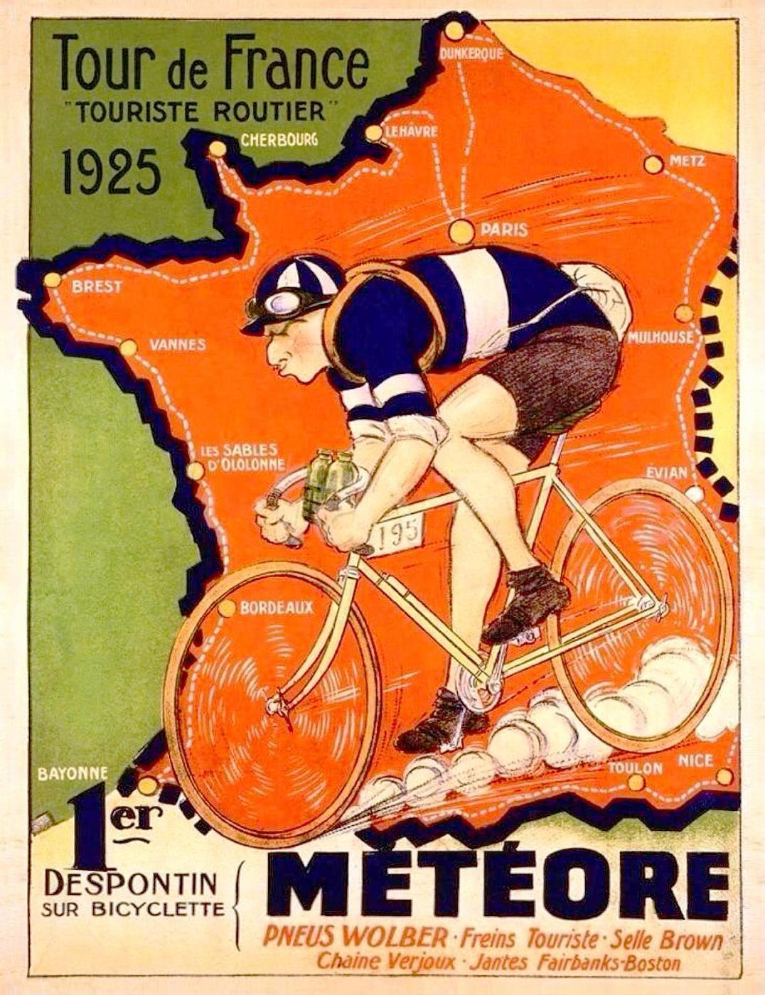 Metéore TdF 1925