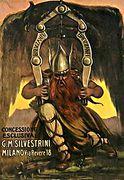 Silvestrini Brev Zanfi 1920