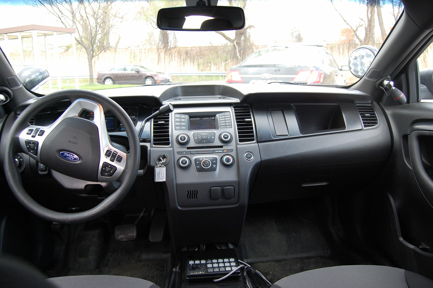 Sedan interior