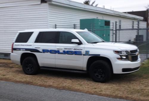DE - Dewey Beach Police 2015 Tahoe