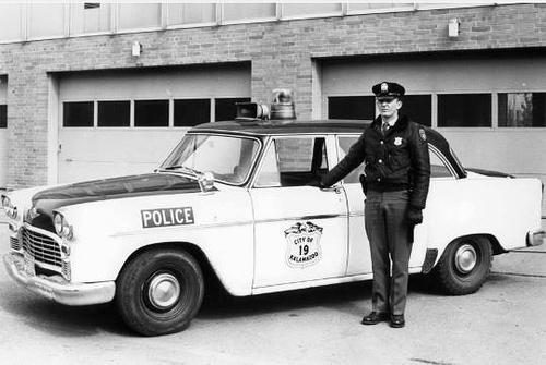 MI- Kalamazoo Police 1964 Checker
