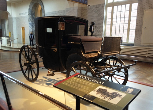 US - President Theo Roosevelt's 1902 Brougham Carriage