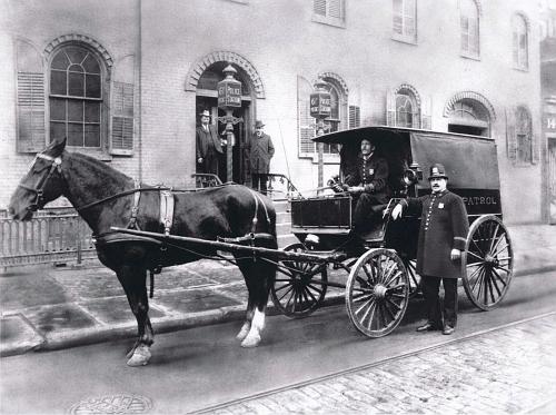 NY- NYPD 1902 wagon 61st Pct