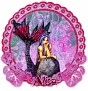 Alisa Floral-Maid Lavender