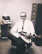 Walter Williams at Marshall Space Flight Center Huntsville Alabama, 1960 and 1970.