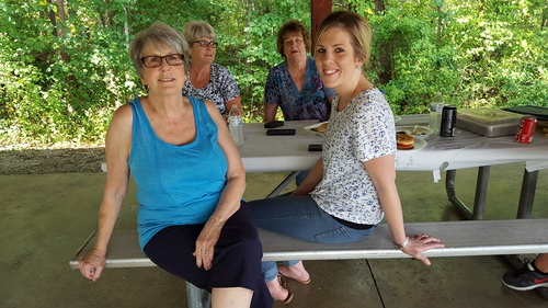 Gail and Lindsay