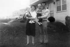 B-Rexford and Barb Sexton and two of their children