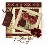 VintageTulips-I Love You stina0608