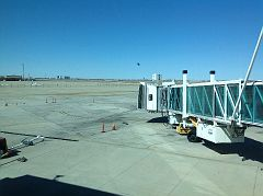 Watching a helicopter take off, Rick Husband International Airport, Amarillo, Potter County, Texas, 2, APR 2016