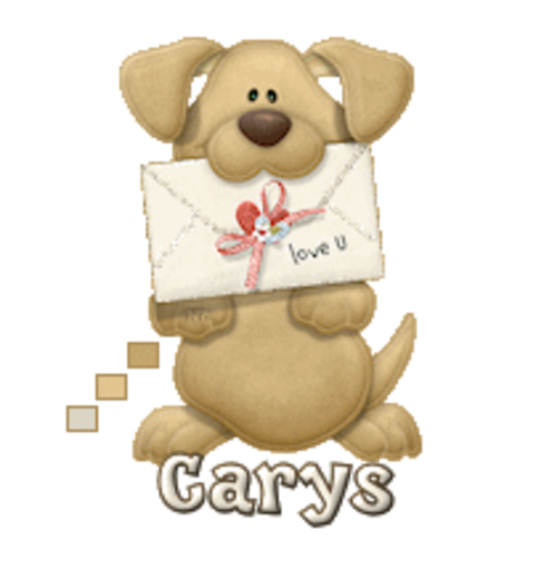 Carys - PuppyLoveULetter