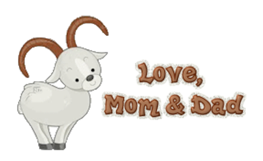 Love, Mom & Dad - BighornSheep