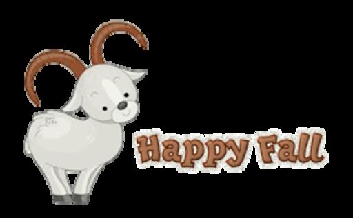 Happy Fall - BighornSheep