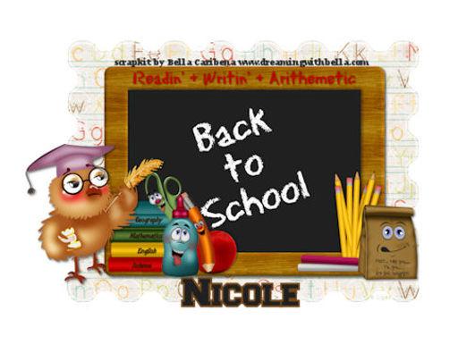 Nicole - School