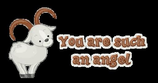 You are such an angel - BighornSheep