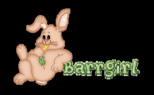Barrgirl - BunnyWithCarrot