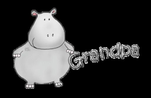 Grandpa - CuteHippo2018