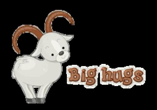 Big hugs - BighornSheep