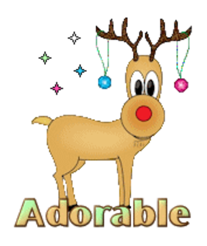 Adorable - ChristmasReindeer