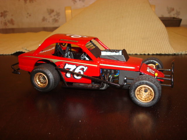 Diecast Racing Cars >> Photo: Gerald Chamberlain Falcon Model | Model and Diecast Builds 2012/13 album | Phil Long ...