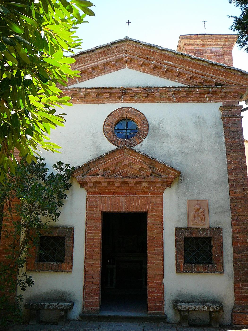 "Dievole Winery Inside ""Church"""