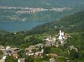 View of Vattaro (where we stayed)