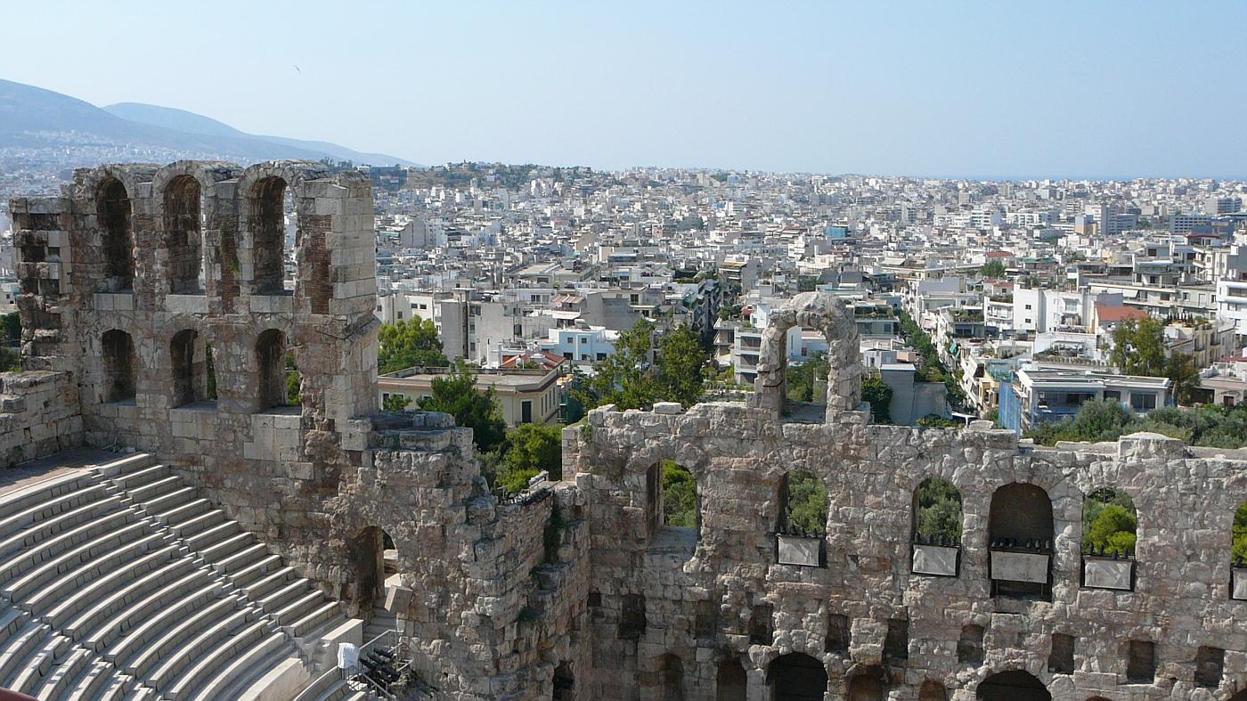 Odeisn of Herods Atticus 160 - 170 AD