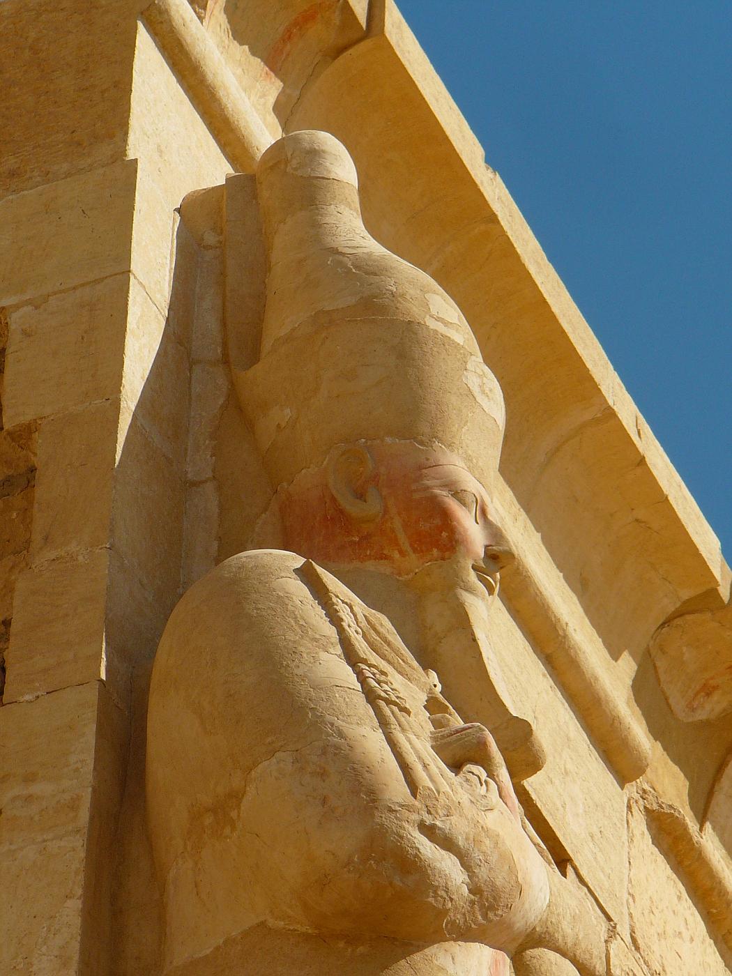Hatshepsut Portrayed as a King