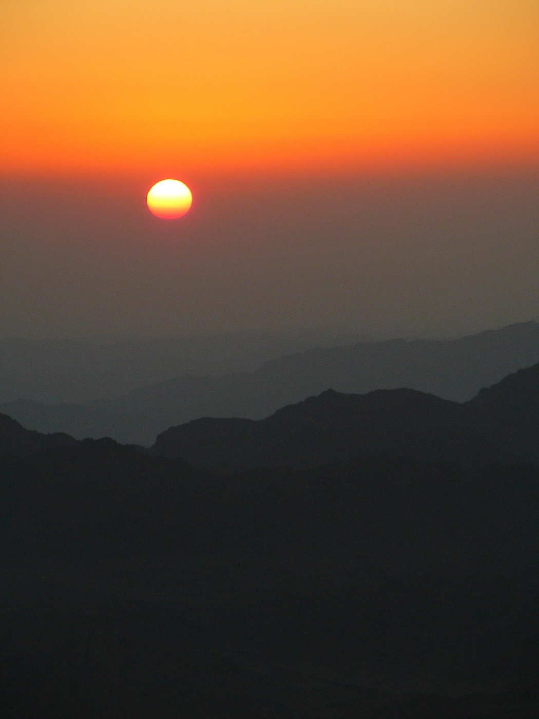 Sunrise from Mt. Moses