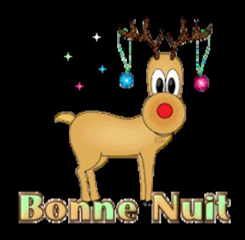 Bonne Nuit - ChristmasReindeer