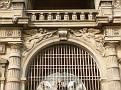 Chateau de Chantilly - Entree portail detail