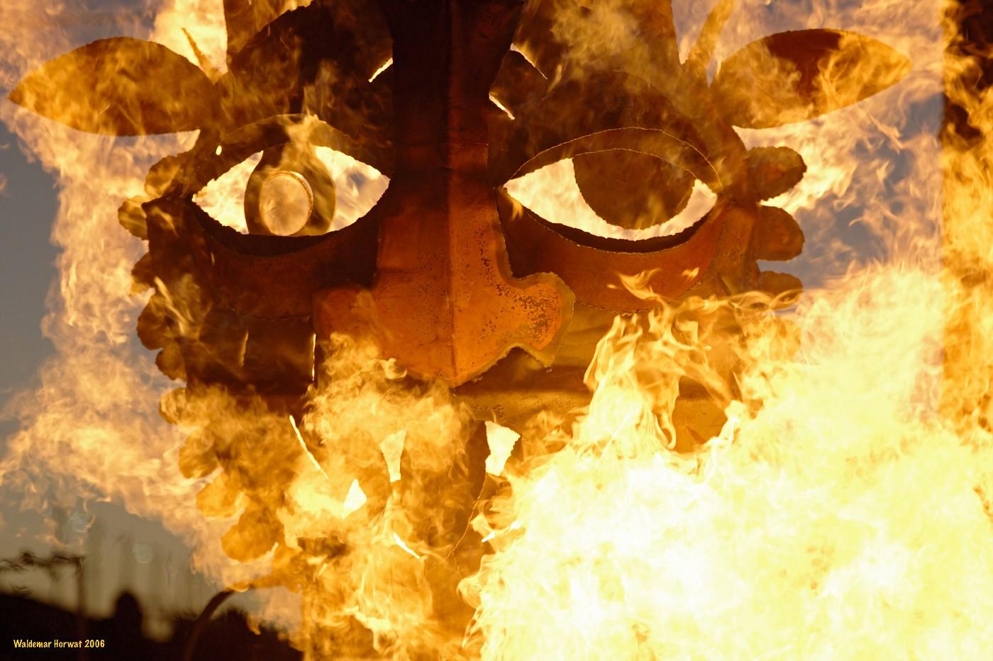 Idol in Flames