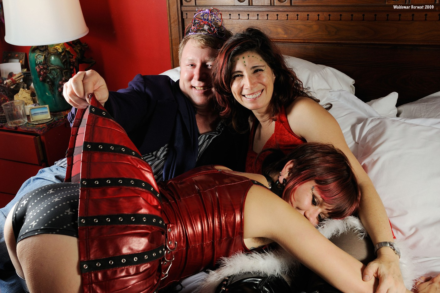 Eric, Melanie, and Melody