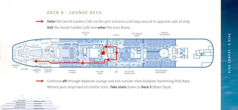 Deck 6 - Lounge Deck