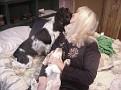 Wilbur Kisses Mom