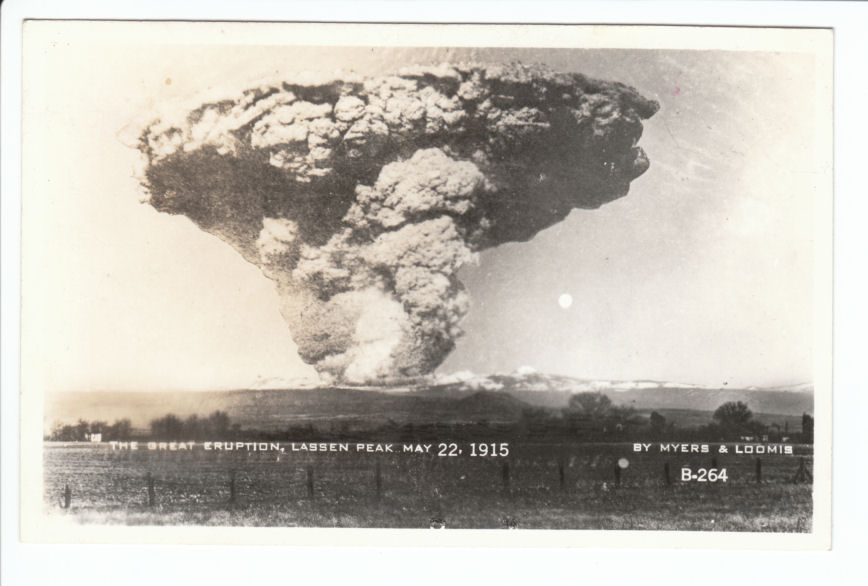 lassen eruption 1915