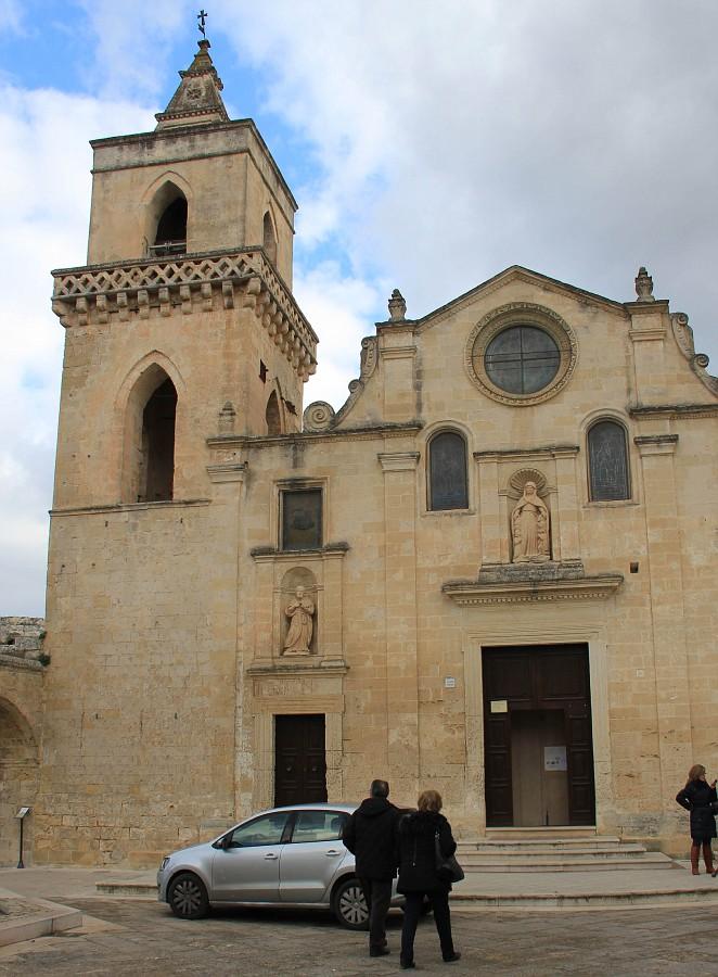 одна из важнейших церквей Матеры - San Pietro Caveoso