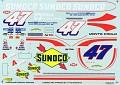 Carolina Motorsports Graphics 1996 Jeff Fuller Busch  933