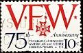 USA 1974 VFW 75th