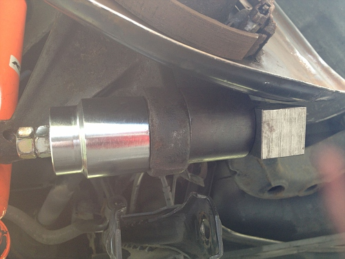 rear ball joint install